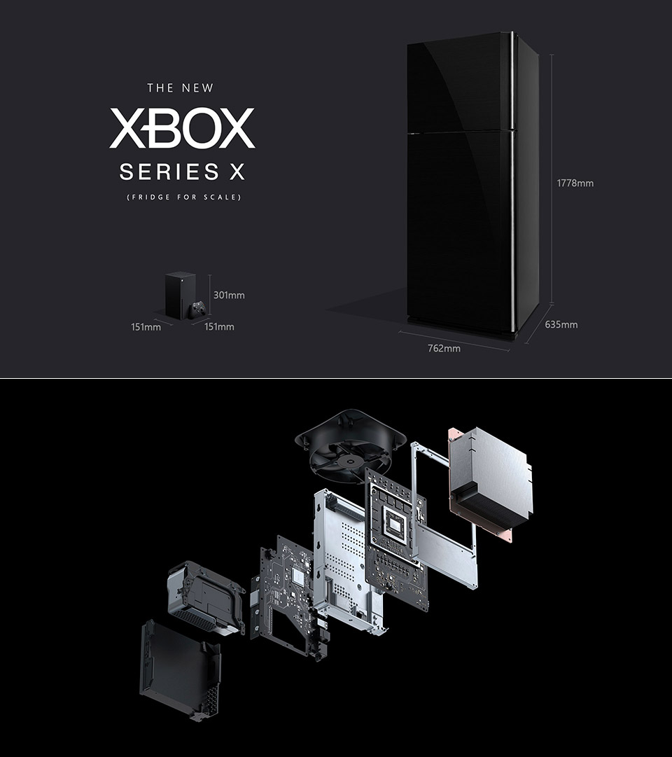microsoft xbox series x fridge